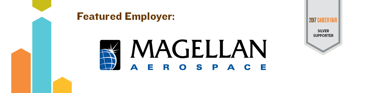 Magellan Aerospace, Winnipeg - Featured Employer and 2017 Career Fair Silver Supporter - Click to view employment opportunities with Magellan Aerospace, Winnipeg